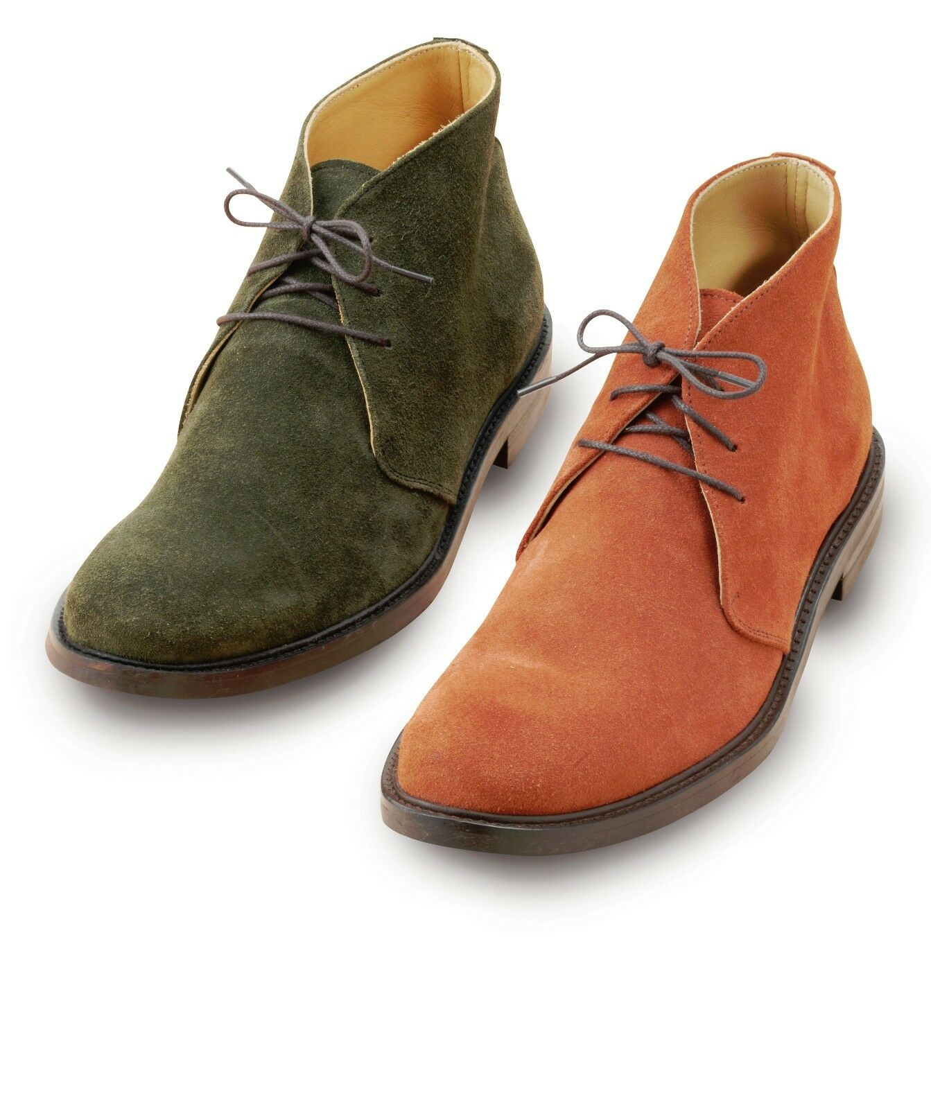 Laksen Suede Traditional Desert Boots