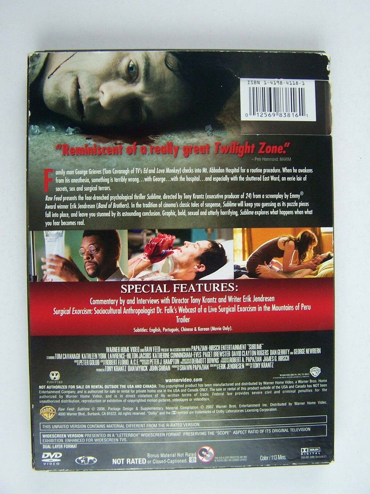Sublime Unrated Edition DVD 12569838161