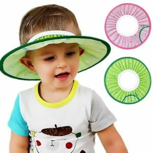 Baby Kids Shampoo Bath Bathing Shower Cap Hat Wash Safe Hair Shield Head Wears