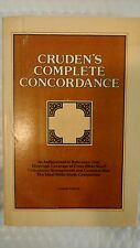 Cruden's Complete Concordance to the Old and New Testaments Crusade Edition 14th