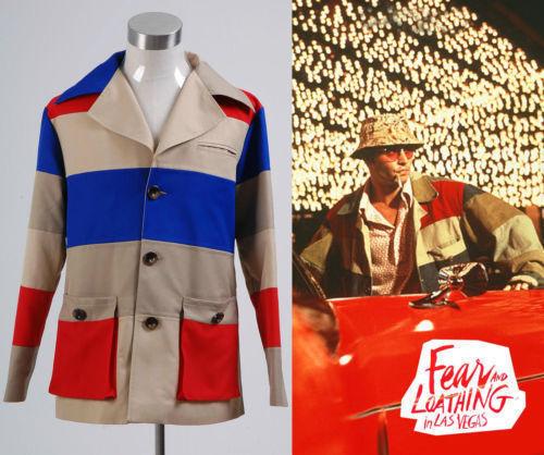 NE Fear and Loathing in Las Vegas Johnny Depp Jacket Costume Cosplay Custom Made