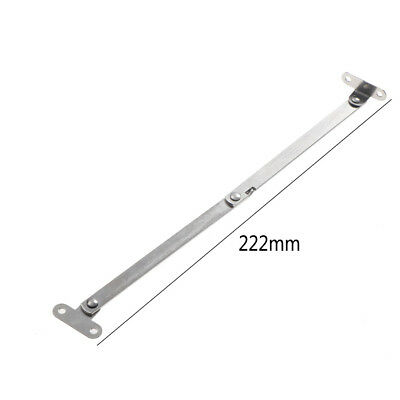 Stainless Steel Cupboard Furniture Door Close Lift Up Stay Support Hinge