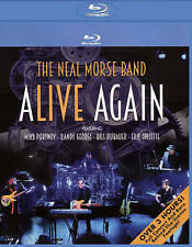 "The Neal Morse Band ""Alive Again"" (Blu-ray, 2016) MINT!!"