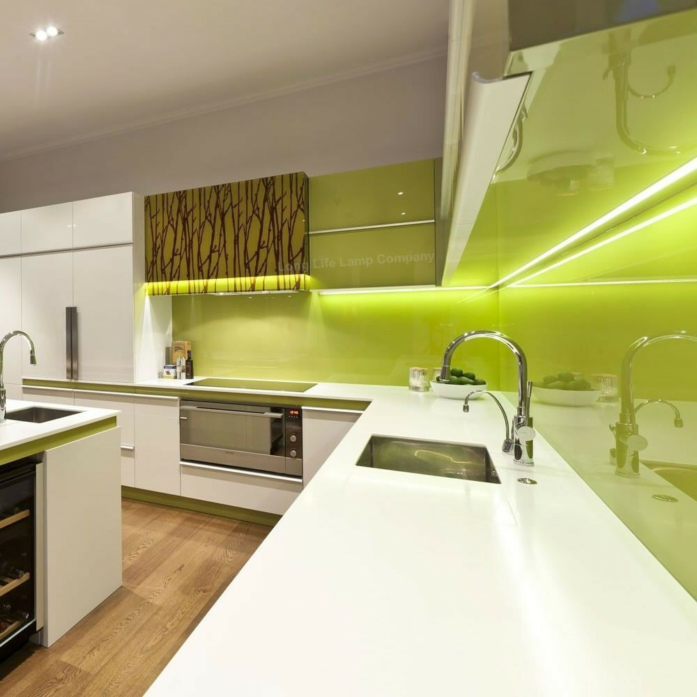Led Lights In Kitchen Cabinets: 6 X LED Under Cabinet Light Kitchen Cupboard Striplights