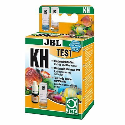 JBL KH Test-Set - Karbonhärte Wassertest Aquarium Karbontest Testset Karbon Test