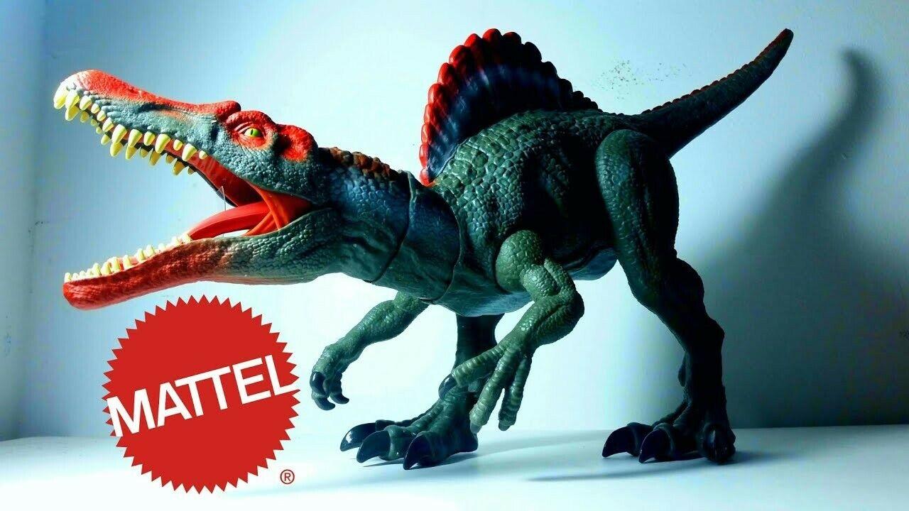 JURASSIC WORLD Legacy Collection SPINOSAURUS EXTREME chompin dinosauro Figura