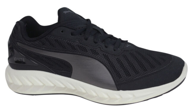 7942635fb3f Puma Ignite Ultimate Black Mens Lace Up Trainers Running Shoes 188605 02 M16