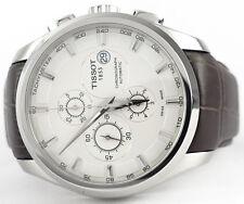 Automatic T0356271603100 Chronograph Tissot Courtier Silver Dial Men's Watch