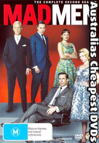 1 of 1 - Mad Men The Second Season DVD NEW, FREE POST WITHIN AUSTRALIA REGION 4