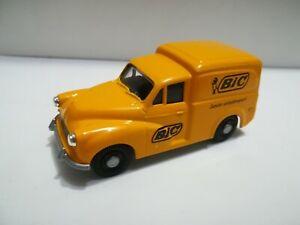 Morris-1000-Van-Pubblicitario-BIC-Automodello-Die-Cast-Scala-1-43-Nuovo