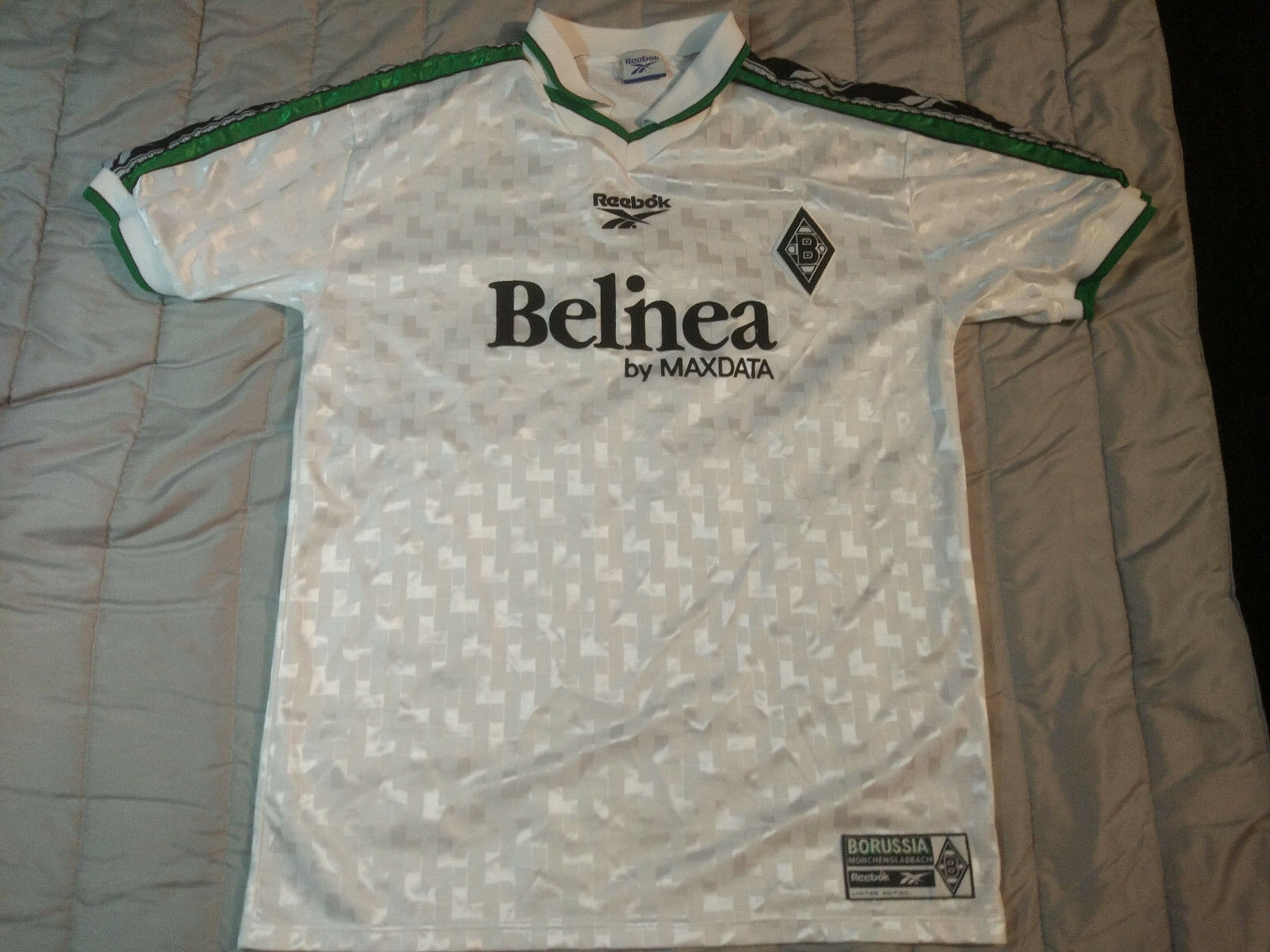 Borussia Monchengladbach L 1998  Reebok Trikot Shirt Jersey Germany Bundesliga