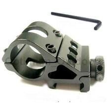 30mm Offset Rifle Flashlight Torch Laser Mount 20mm Weaver Picatinny Rail Clamp