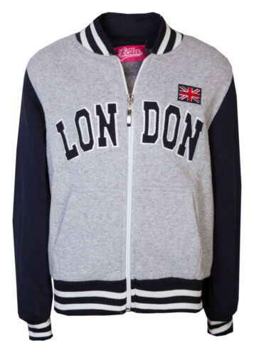 Childrens London College Jackets Boys Sweatshirts Girls Souvenir Top Love Lola®