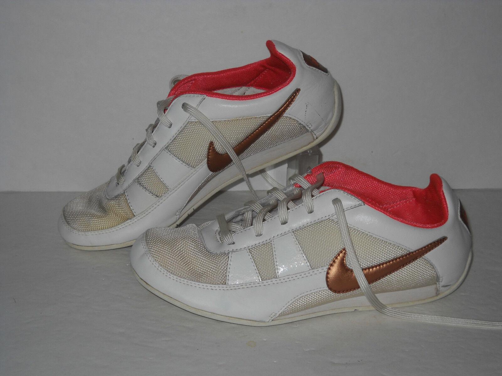 Nike Shoes, Training Shoes, Nike White/Bronze/Pink, Womens US Size 6.5 77e842
