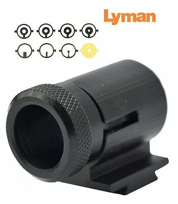 """Lyman  17AHB Front Sight .404/"""" High  INCLUDES 8 Inserts 3171076 New!"""