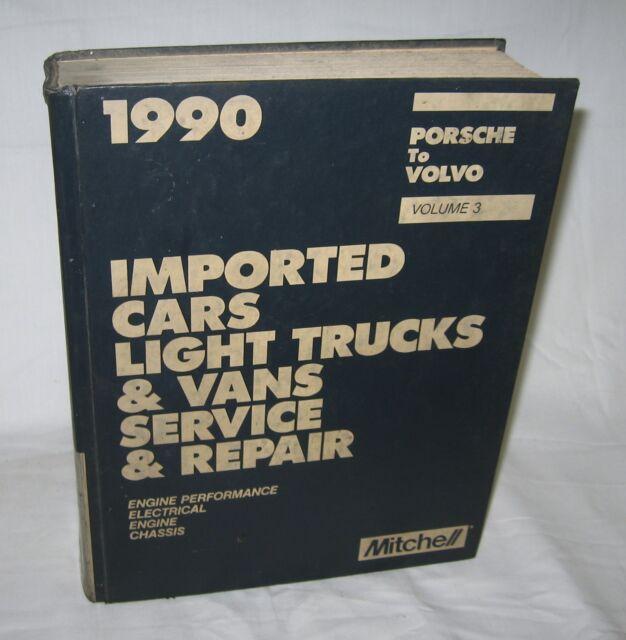 1990 mitchell imported car light truck van porsche to volvo rh ebay com mitchell online service manuals mitchell international vehicle service manuals