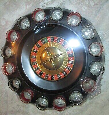 & Nuovo Di Zecca Sigillato. Roulette Gioco Alcolico Con 16 Bicchierini Festa.-mostra Il Titolo Originale Fornitura Sufficiente
