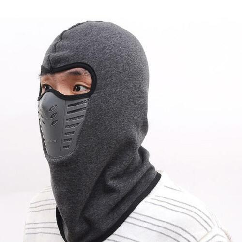 Winter Cycling Outdoor Mask Cap Sports Windproof Waterproof Warm Hood Scarf Hat