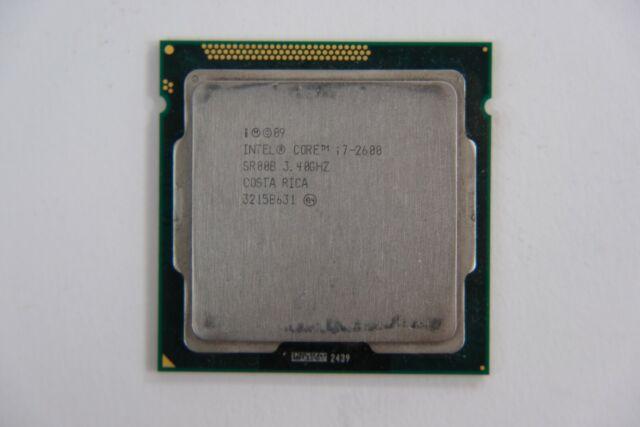 2nd Gen Intel Core i7-2600 Quad Core Sandy Bridge Processor 3.4GHz LGA1155 SR00B