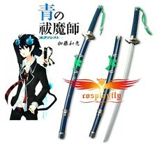 New Blue Exorcist Ao no Ekusoshisuto Rin Okumura Cosplay Sword Kurikara Sword B