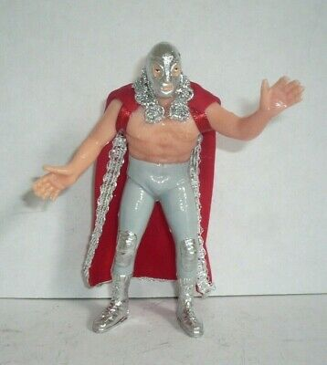 Mexican El SANTO luchadores Mexico Lucha libre Toy Wrestler Package Of 9 Figures