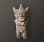 miniature 1 - STATUETTE CHANCAY CUCHIMILCO / ANCIENT STATUE TERRACOTTA, PRE INCA, PEROU / PERU