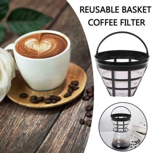 Coffee Filter Permanent Basket Stainless Steel Strainer Filters Cone all X1Y4