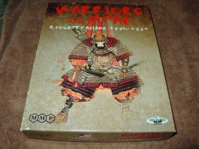 MMP   IGS - Warriors of Japan game - A Country Aflame 1335 - 1339 (25% UNP)
