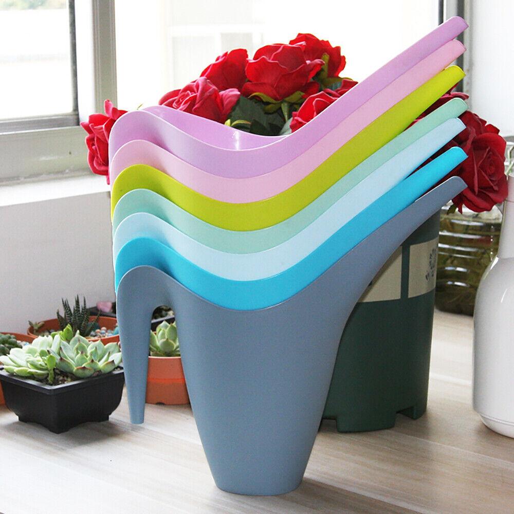 Watering Can Indoor Outdoor Garden Plants Vegetable Water Plastic Tools 1L/1.8L