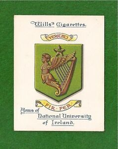 NATIONAL-UNIVERSITY-of-IRELAND-Ollscoli-na-hEireann-Arms-original-1923-card