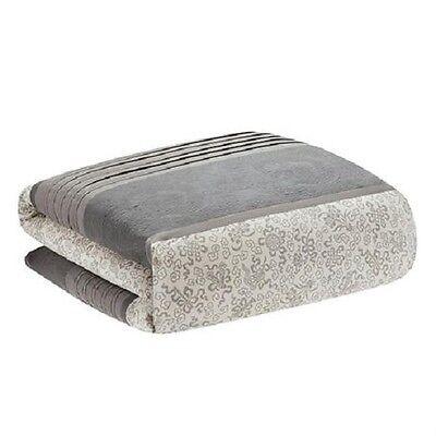 N NATORI PEKING  King Duvet Cover Grey