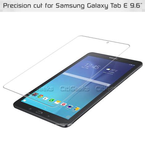 Glossy Clear or Anti-Glare CitiGeeks Samsung Galaxy Tab E 9.6 Screen Protector