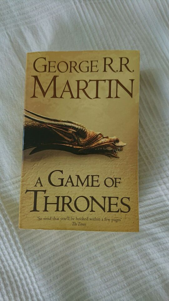A Game Of Thrones, George R. R. Martin, genre: science