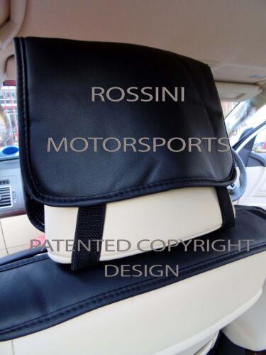 VAUXHALL ANTARA CAR SEAT COVERS YS 06 ROSSINI SPORTS RED//BLACK LEATHERETTE