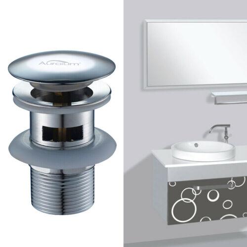 Waschbecken Universal Ablaufventil Ablaufgarnitur POP UP Ventil für Waschtisch
