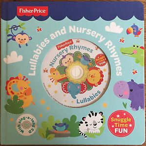 Image Is Loading Fisher Price Lullabies Amp Nursery Rhymes Book