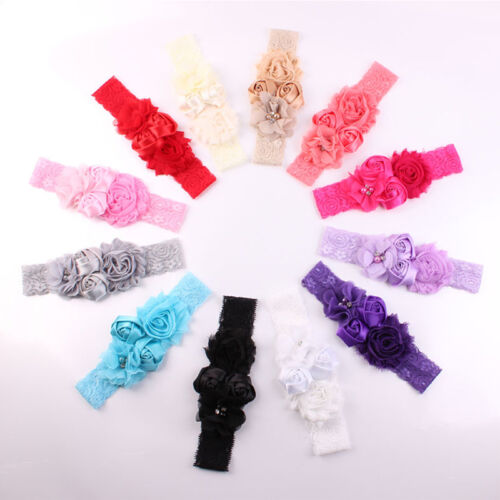 1pcs Soft Girls Headband Flower Headband for Baby Girl Children Hair Accessories