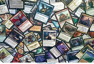 mtg-Magic-the-Gathering-75-BULK-RARE-LOT-game-card-collection-edh-commander