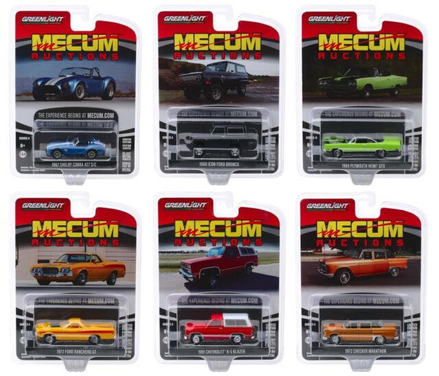Greenlight 37110 Mecum Auctions Collector Cars Series 1 Complete