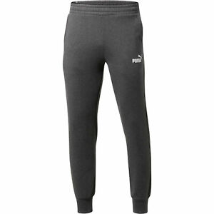 PUMA-Essentials-Men-039-s-Fleece-Knit-Pants-Men-Knitted-Pants-Basics