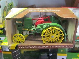 John-Deere-1915-Model-R-Waterloo-Boy-Toy-Tractor-1-16th-scale-NIB-1987-Issue