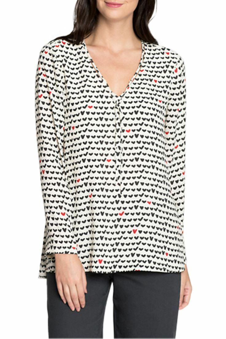 Nic+Zoe - Woherren Checked Out Top - Multi - M