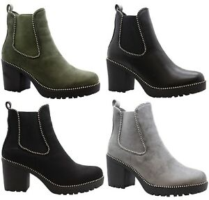 studded chelsea boots ebay