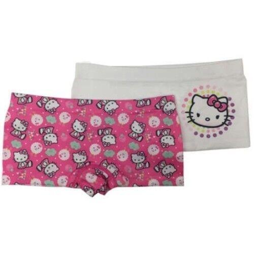 e46289d1fa31 Hello Kitty Girls Seamless Boyshorts 2 Pack Size Large 10-12 for sale  online | eBay