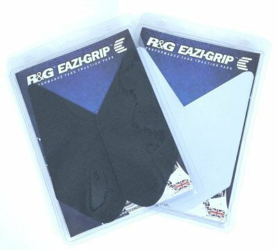 R/&G Racing Eazi-Grip Traction Pads Black to fit Suzuki GSXR 600 L1-L4 2011-2014