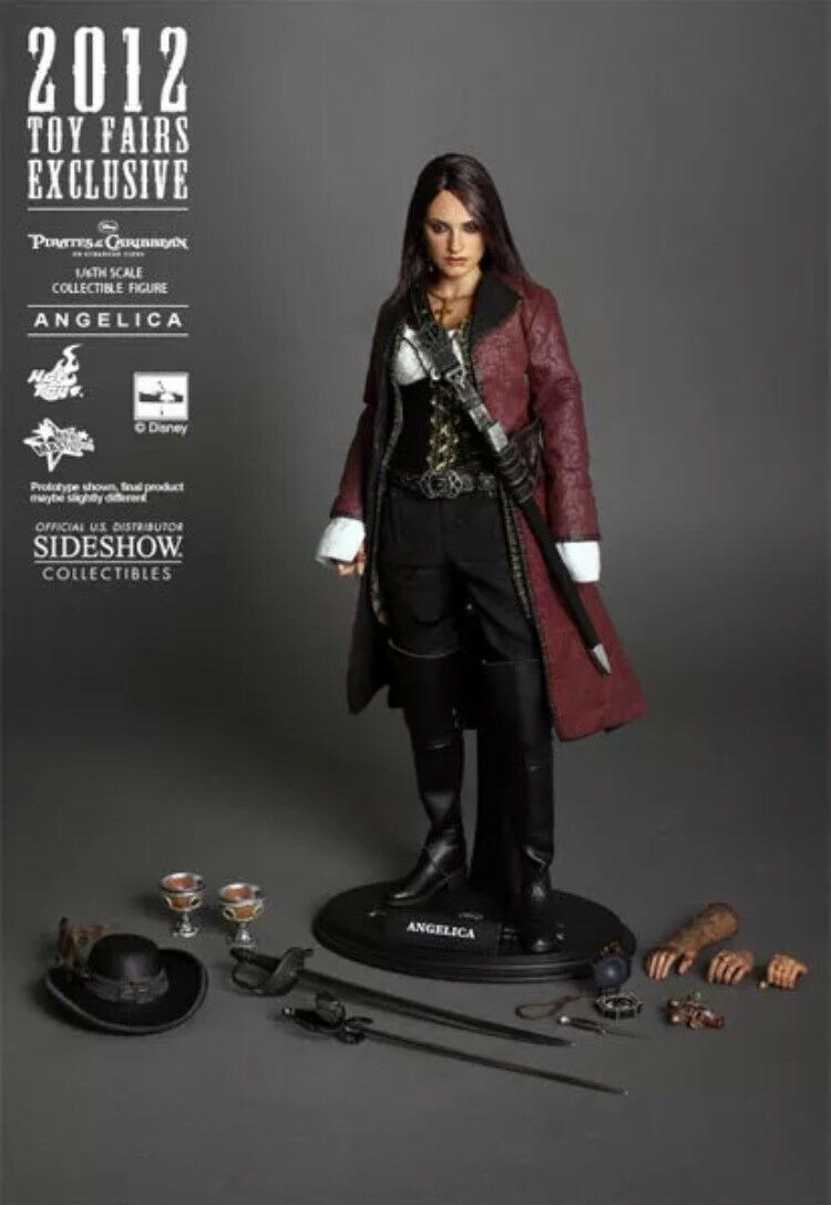 Angelica POTC 2012 Toy Fair Exclusive Hot Toys Penelope Cruz 1/6 US Seller