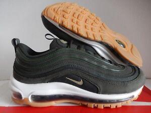 Nike Women's Air Max 97 UT Sequoia Neutral Olive Aj2248 300 Size 9