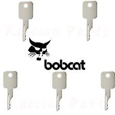 5pcs Bobcat Ignition Key Skid Steer Loader Mini Excavator Compact Tracked Loader