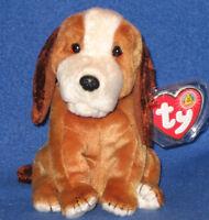 TY HOLMES the DOG BEANIE BABY - MINT RETIRED BBOM