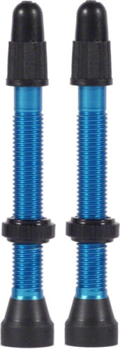 WTB Aluminum TCS Tubeless Valves 46mm Blue Pair